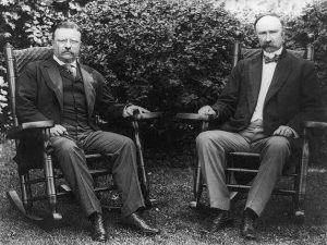 President Theodore Roosevelt and Charles W. Fairbanks
